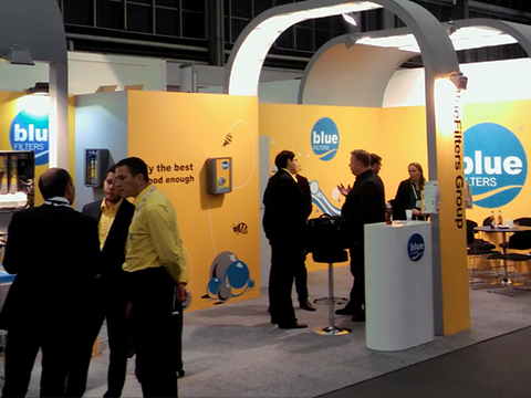 Bluefilters at Aquatech Amsterdam 2015