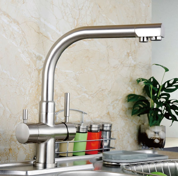 Faucet - Model SK 3301 - brushed nickel
