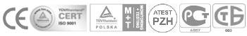 значки на партньори на Bluefilters България