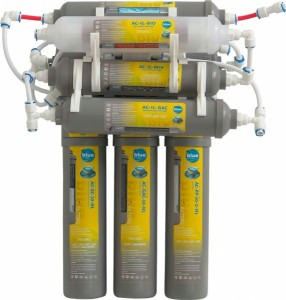 Система за пречистване на вода - мотаж под мивка.